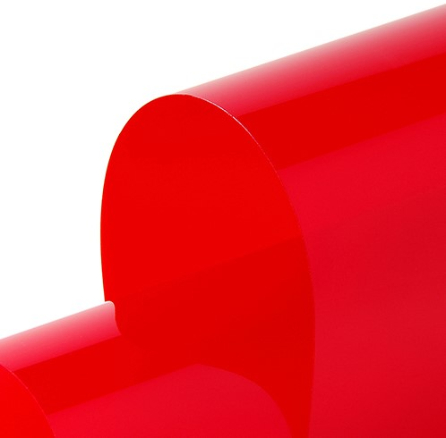 Hexis Cristal C4288 Permanent rood 1230mm-1