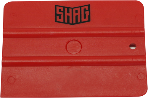 SHAG rode squeegee, medium hardheid