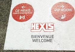 Hexis GFLX230 Monomeer vloerlaminaat [R12] 25m x 1370mm