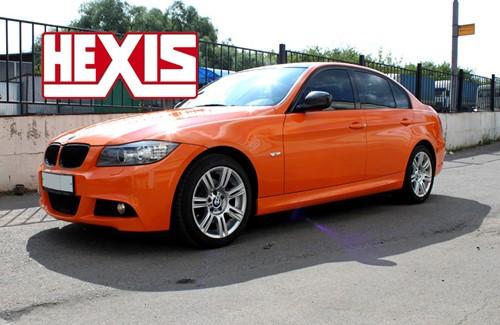 Hexis Skintac HX20165M Oranje rood mat 1520mm-1