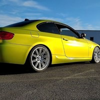 Hexis Skintac HX20558B Metallic Yellow Gloss 1520mm-1