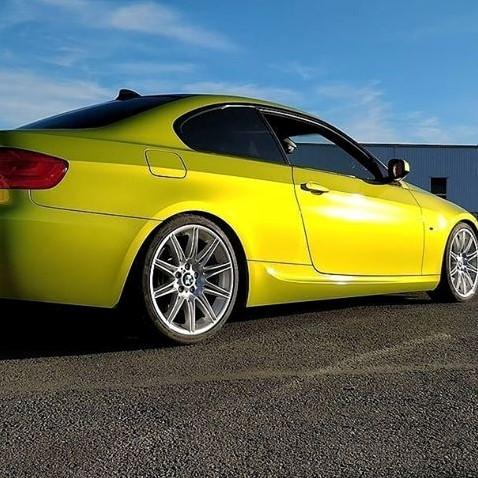 Hexis Skintac HX20558B Metallic Yellow Gloss 1520mm-1