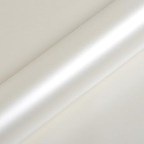 Hexis Skintac HX20BNCS Narce White satin 1520mm rol van 2 str.m.