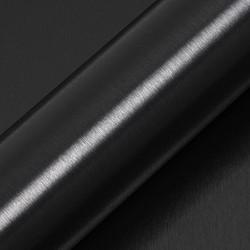Hexis Skintac HX30BA889B Geborsteld alu houtskool 1520mm