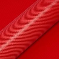 Hexis Skintac HX30CA200B Kardinaal rood carbon glans 1520mm-1