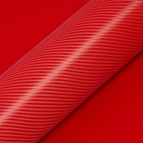 Hexis Skintac HX30CA200B Kardinaal rood carbon glans 1520mm