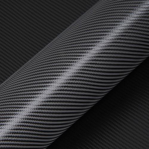 Hexis Skintac HX30CA890B Zwart carbon glans 1520mm