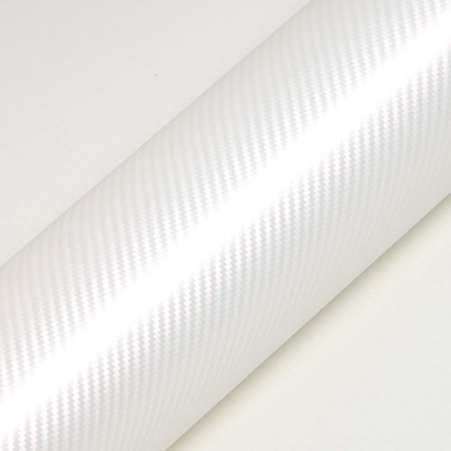 Hexis Skintac HX30CABPEB Pearl White Carbon gloss 1520mm
