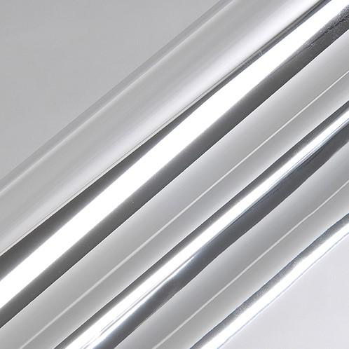 Hexis HX30SCH01B Super Chrome Zilver Gloss, 1370mm rol van 5,00 str.m.