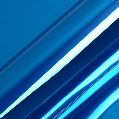 Hexis HX30SCH05S Super Chrome Blauw Satin, 1370mm rol van 1,90 str.m.