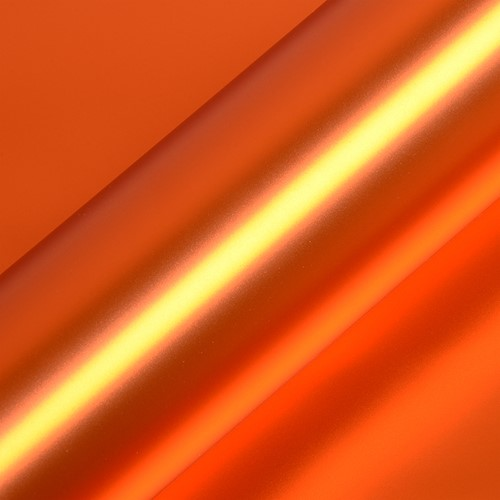 Hexis HX30SCH08SB Super Chrome Oranje Satin, 1370mm