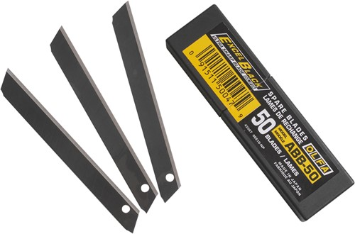 OLFA Reservemesjes black max ABB-50