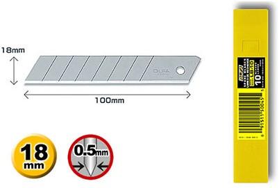 OLFA Reservemesjes 18 mm LB-10