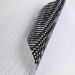 Hexis MICRO1 Polymeer microgeperforeerde printmedia 30m x 1370mm