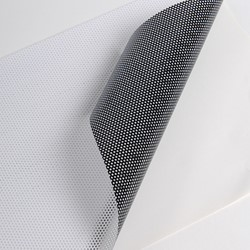 Hexis MICRO170UV Monomeer microgeperforeerde printmedia 30m x 1370mm