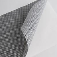 Hexis MICROINSD Monomeer microgeperforeerde printmedia 25m x 1370mm-1