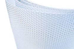 Polymeer microgeperforeerde printmedia, M0 brandcertificaat