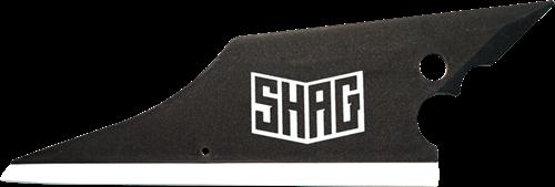 SHAG tool om tintfolie onder de rubbers te installeren (Conqueror)