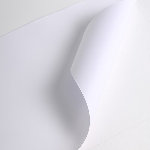 Hexis PAP132DB Gecoat mat papier - Blue back 61m x 1,372m-1