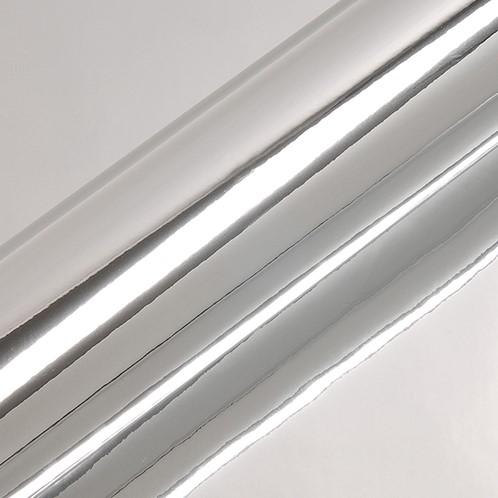 Hexis Polyester P6877 Chrome Silver 1230mmrolbreedte van 57cm x 19,95 m rol van 19,95 str.m. op een breedte van 57cm