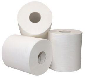 Middenrol papier enkel laags