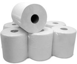 Middenrol papier dubbel laags