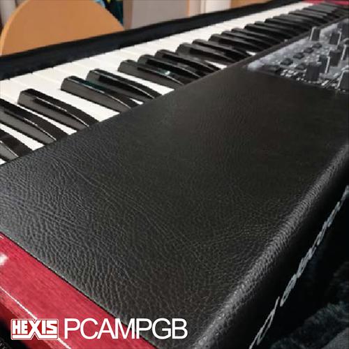 Hexis PCAMPGB Gegoten laminaat met leerstructuur 1520 mm x 10m.