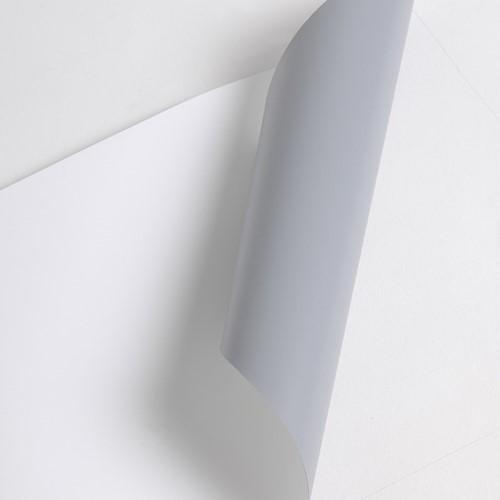 POP270ECOS 320um, 91,4cm x 20m, White Polyester Roll Up Disp