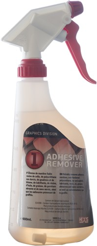 Hexis System 1-2-3 stap 1: REMOVER, 600ml flacon