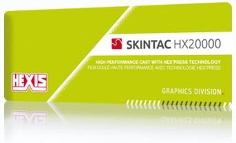 Kleurenwaaier Hexis Skintac HX20000 serie Swatchbook