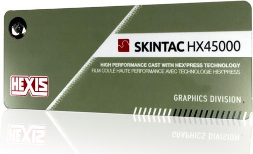 Kleurenwaaier Hexis Skintac HX45000 serie Swatchbook-1