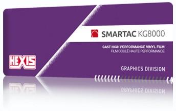 Kleurenwaaier Hexis Smartac KG8000 serie Swatchbook