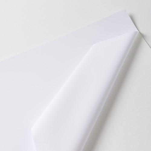 Hexis VCSR201WG1 Polymeer printmedia met versterkte lijmlaag 45m x 1370mm-1