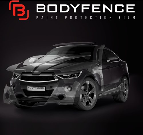 Hexis BODYFENCE car protection film 615mm-2