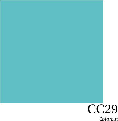 ColorCut CC29 Turquoise