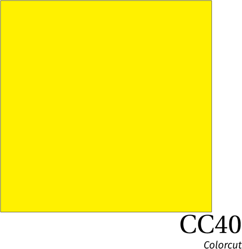 ColorCut CC40 Fluo Yellow