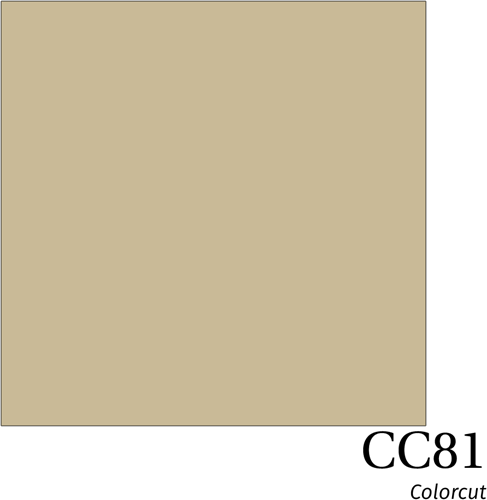 ColorCut CC81 Beige