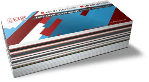 Kleurenwaaier Hexis Mono E3000 / Microtac M2000