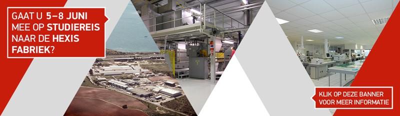 Studiereis naar de Hexis Fabriek 19 - 22 juni 2018