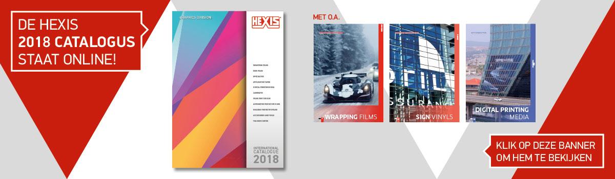 Bekijk de nieuwe Hexis catalogus hier!