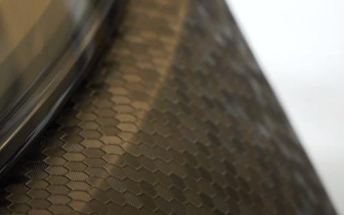 Hexis Skintac HX30HC889S Honey Comb Black, 1520mm rol van 23 str.m.
