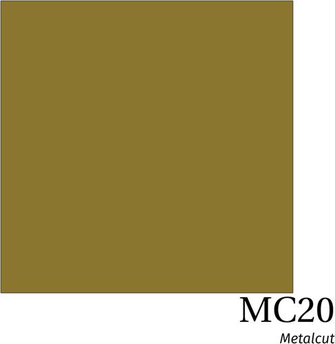 Hexis Metal MC20 Gold Gloss