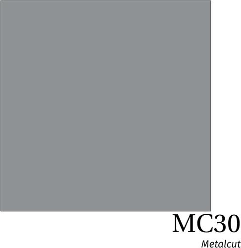 Hexis Metal MC30 Silver Gloss