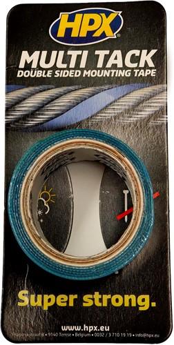 Dubbelzijdige montagetape transparant 19 mm Proefrolletje