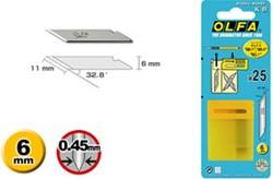 OLFA 25 reserve messen KB (voor Roland printers)