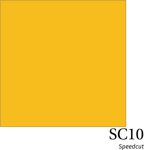 Speedcut SC10 Orange Yellow