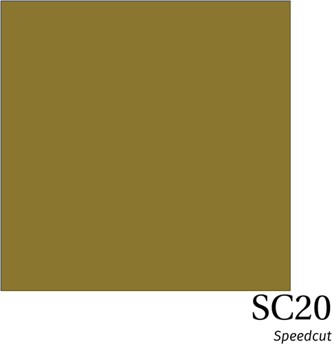Speedcut SC20 Metallic Gold