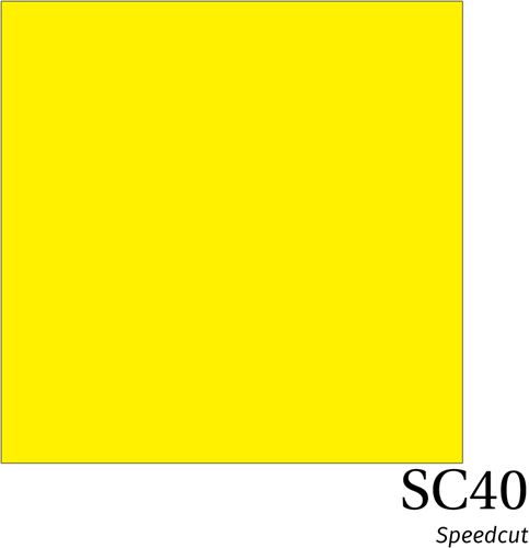 Speedcut SC40 Fluor Yellow