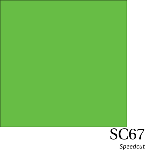 Speedcut SC67 Apple Green